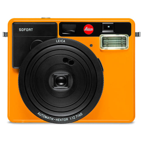 LEICA Sofort Orange Instant Film Camera 19102