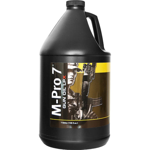 M-PRO 7 Liquid Gun Oil LPX, 1 Gallon Bottle (070-1454)