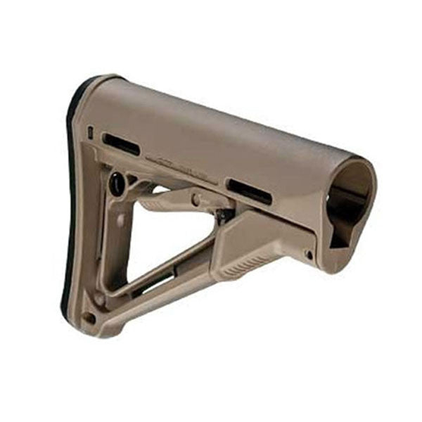 MAGPUL CTR Mil-Spec Flat Dark Earth Buttstock For AR15/M16 (MAG310-FDE)