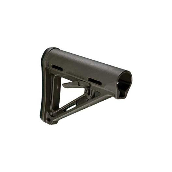 MAGPUL MOE Carbine Stock, Commercial-Spec, Olive Drab Green (MAG401-ODG)