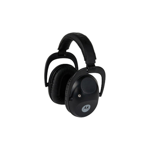 MOTOROLA Talkabout Isolation Earmuff w/ PTT Microphone Cable, Black (MHP61)