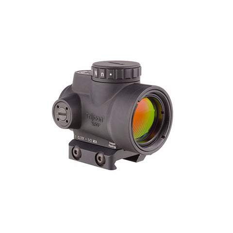 TRIJICON 1x25mm MRO 2 MOA Red Dot Sight with Low Mount (MRO-C-2200004)