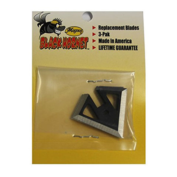 MAGNUS Black Hornet 100 Grain Replacement Main Blade (BH100MB)