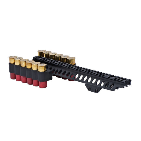 MESA-TACTICAL SureShell Kel-Tec KSG 12Ga 6-Shell Carrier with Rail (93000)
