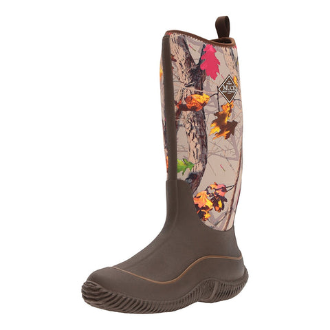 MUCK BOOT COMPANY Womens Hale Brown/Hot Leaf Camo Boots (HAW-HTLF-HTL)