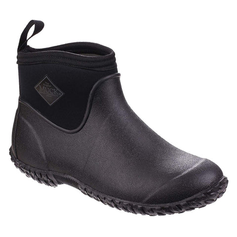 MUCK BOOT COMPANY Mens Muckster II Ankle Casual Black Boots (M2A-000-BLC)