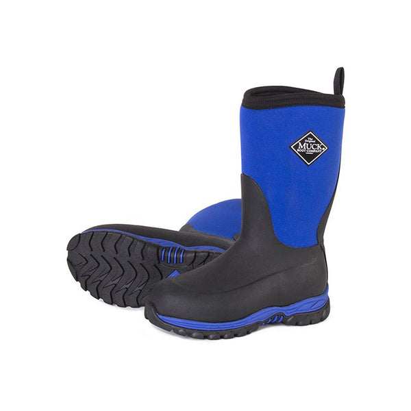 MUCK BOOT COMPANY Kids Rugged II Black/Blue Outdoor Sport Boots (RG2-200-BLU)