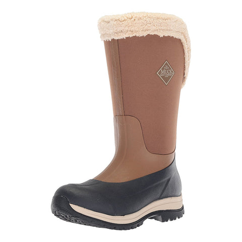 MUCK BOOT COMPANY Womens Arctic Apres Tall 15in Winter Blue Boots (WAT-201-BLU)