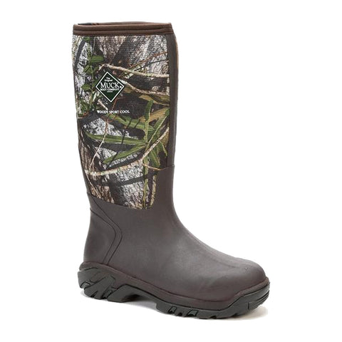 MUCK BOOT COMPANY Mens Woody Sport Cool Hunting Mossy Oak Obsession Boots (WSCT-MBO)