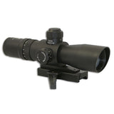 NCSTAR Mark III Tactical 2-7x32 Riflescope, Illuminated Mil-Dot Reticle, Matte Black (STM2732G)