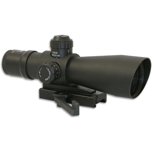 NCSTAR Mark III Tactical 6x42 Riflescope, Illuminated Mil-Dot Reticle, Matte Black (STM642G)