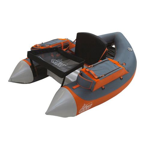 OUTCAST Fat Cat-LCS Float Tube, Gray/Orange (200-000183)