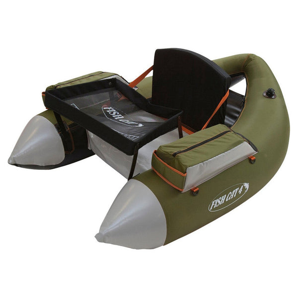 OUTCAST Fish Cat 4-LCS Float Tube, Olive (200-000103)