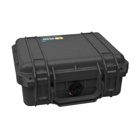 PELICAN 1200 Case, 9.25x7.12x4.12, Black w/ Foam (1200000110)