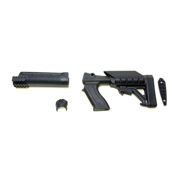 PROMAG Archangel Tactical Shotgun Stock System for Remington 870, Black, Polymer (AA870)