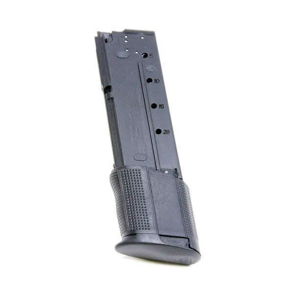 PROMAG Five Seven Iom and USG 5.7x28mm 30 Rd Magazine, Black, Polymer (FNH-A2)