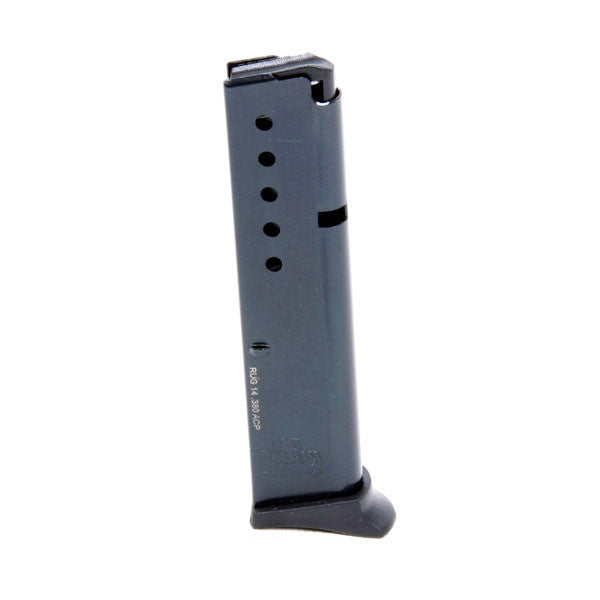 PROMAG LCP .380 ACP 10 Rd Magazine, Blue, Steel (RUG 14)