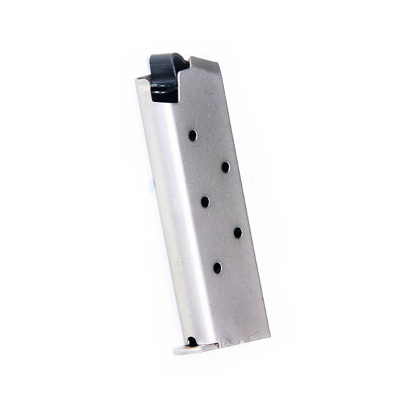 PROMAG Mustang, Pocketlite .380 ACP 6 Rd Magazine, Nickel Plated, Steel (COL 05N)