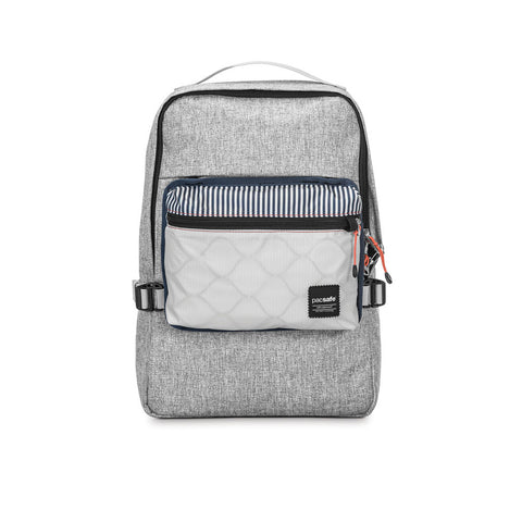 PACSAFE Slingsafe LX350 Anti-Theft Tweed Gray Compact Backpack (45331112)