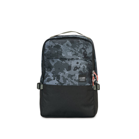PACSAFE Slingsafe LX350 Anti-Theft Gray Camo Compact Backpack (45331802)