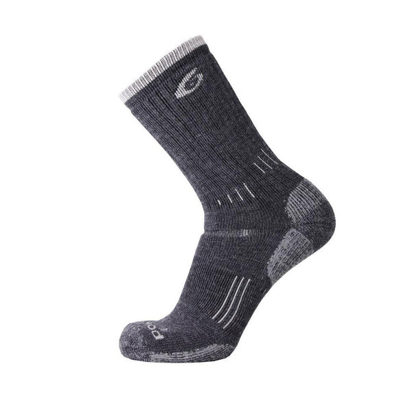 POINT6 Hiking Essential Light Crew Gray Socks (2531-200)