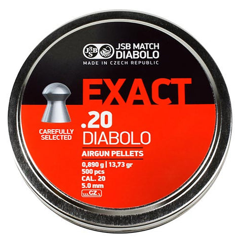 PREDATOR INTERNATIONAL Exact 20Cal Pellets 546220-500