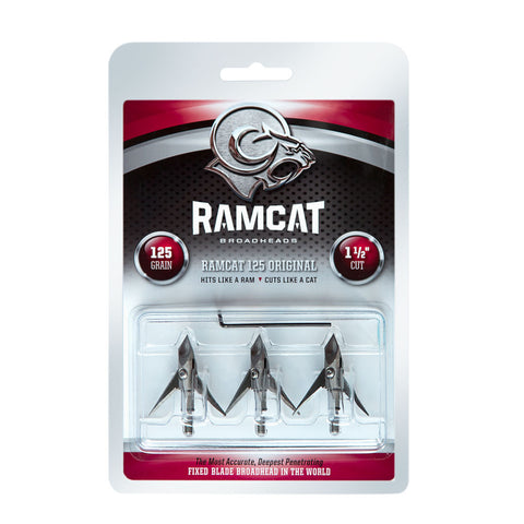RAMCAT 3 Pack of Original 125 Grain Broadheads (R1001)