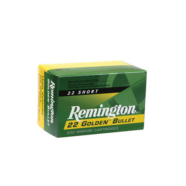 Remington .22 LR Ammo, 36 Gr, Hollow Point, High Velocity, 50 Rd Box (1622)