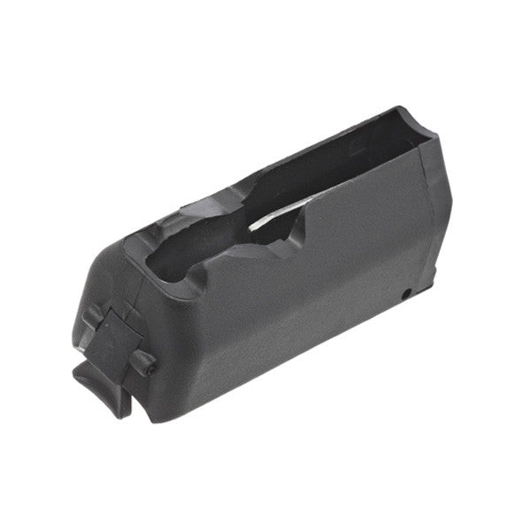 RUGER American Short Action Magazine, 243/308 Win / 7mm-08/22-250 Rem, 4 Rd, Black (90392)