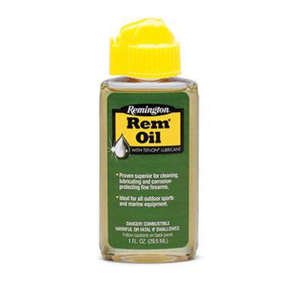 Remington 1 oz. bottle Rem-Oil Liquid 1 oz. Lube (26617) | Webyshops.com