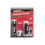 SABRE Spray, Home Unit and Key Chain Case, Black (SRU-HAPK)