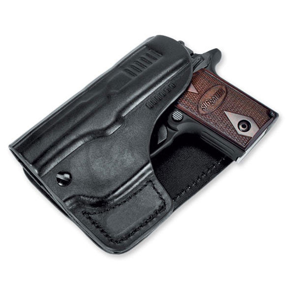 SIG SAUER P238 Pocket Holster, Leather, Black (HOL-PKT-238-BLK)