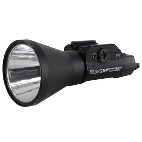 STREAMLIGHT TLR-1s HP LED Rail Mounted Tactical Light w/ Remote Switch, 2x CR123A, Black (69216)