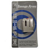 Savage 17HMR 22WMR 5 Rd Stainless 93 Series Magazine (90009)