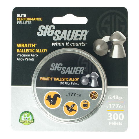 Sig Sauer 177mm Pellets AIR-AMMO-WRAITH-AL-177-300