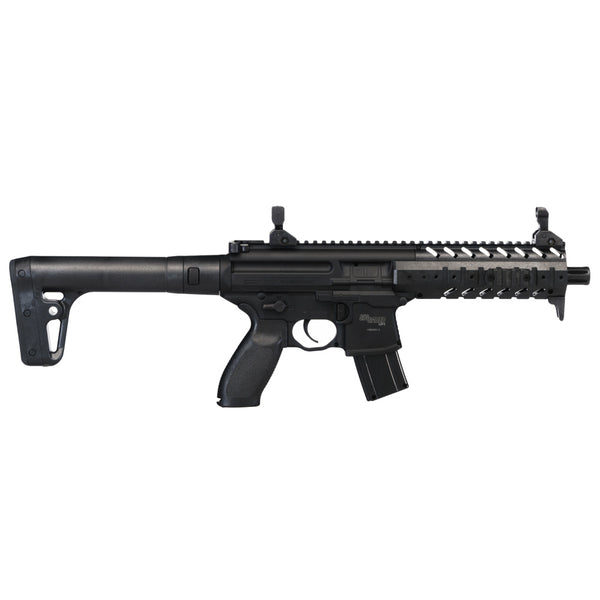 SIG SAUER MPX 177mm 88 Gr CO2 Black Air Rifle (AIR-MPX-177-88G-30-BLK)