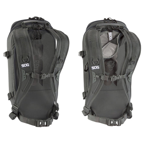 SOG Ranger 12L Grey Hang Tag Backpack CP1002G