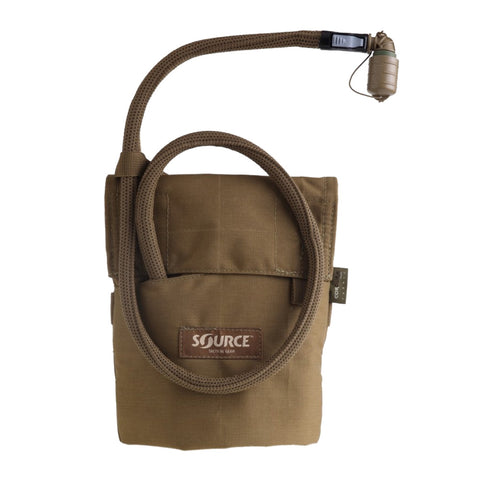SOURCE Kangaroo 1L Collapsible Canteen with Coyote Pouch (4001510201)