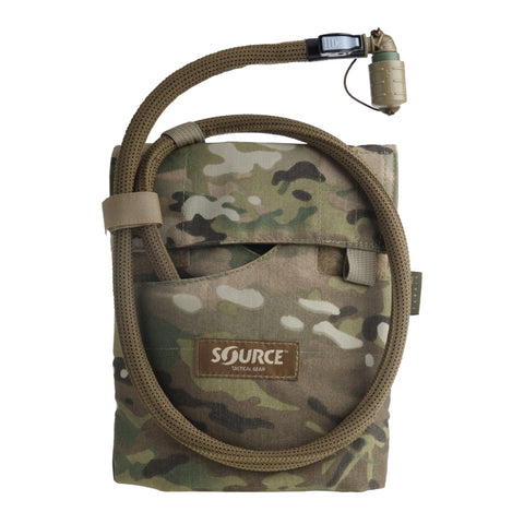 SOURCE Kangaroo 1L Collapsible Canteen with Multicam Pouch (4001511501)