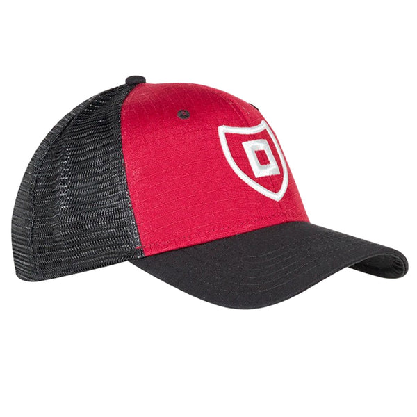 Stormr Shield Black-Red Mesh Cap RCAP-03