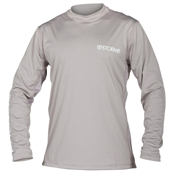 STORMR RW215M-02 Mens UV Shield Long Sleeve Smoke Performance T-Shirt