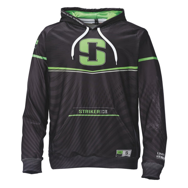 STRIKER ICE Riot Black-Green-White Hoody 916942-PAR