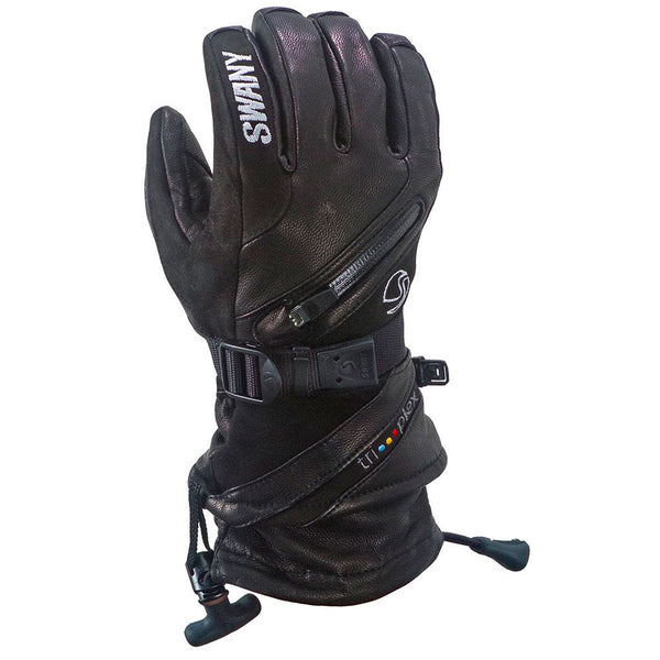 SWANY X-Cell II Mens Black Gloves SX-43M-BK