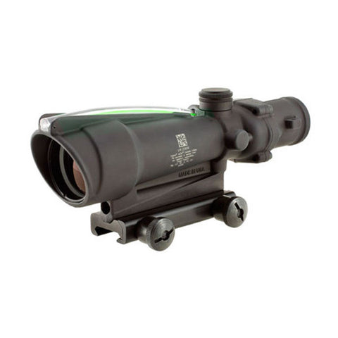 TRIJICON ACOG 3.5x35 Scope w/ TA51 Mount, Dual Illum Green Crosshair .223 Ballistic Ret, ITAR