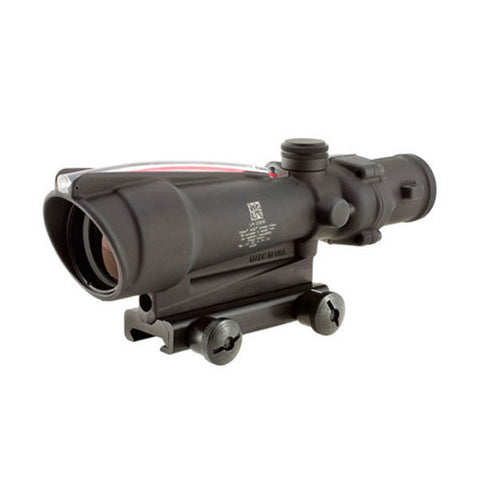 TRIJICON ACOG 3.5x35 Scope w/ TA51 Mount, Dual Illum Red Crosshair .308 Ballistic Ret (TA11J-308)