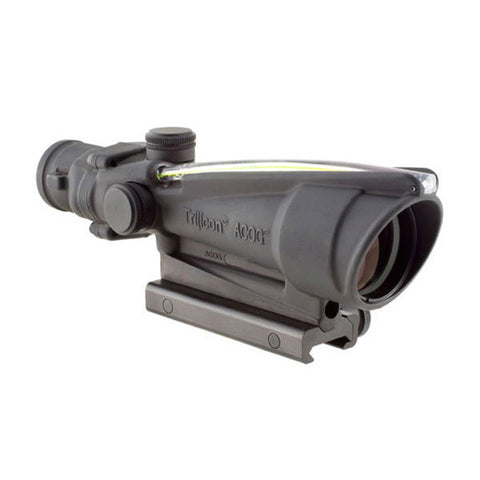 TRIJICON ACOG 3.5x35 Scope w/ TA51 Mount, Dual Illum Amber Crosshair .308 Ball. Ret (TA11J-308A)
