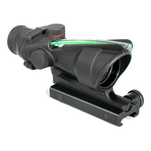 TRIJICON ACOG 4x32 Riflescope, Dual Illuminated Green Chevron .223 Ballistic Reticle, TA51 Mount (TA31F-G)