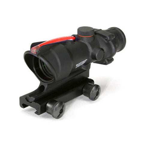 TRIJICON ACOG 4x32 Scope w/ TA51 Mount, Dual Illum Red Horseshoe/Dot 6.8 Ballistic Ret (TA31H-68)