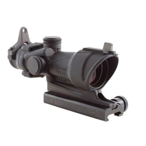 TRIJICON ACOG 4x32 Riflescope, Center Illuminated Amber Crosshair .223 Ballistic Reticle (TA01NSN)