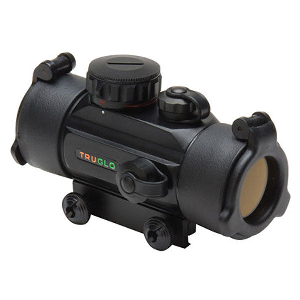 TRUGLO 1x30 Traditional Red Dot Sight, 5 MOA (TG8030B)
